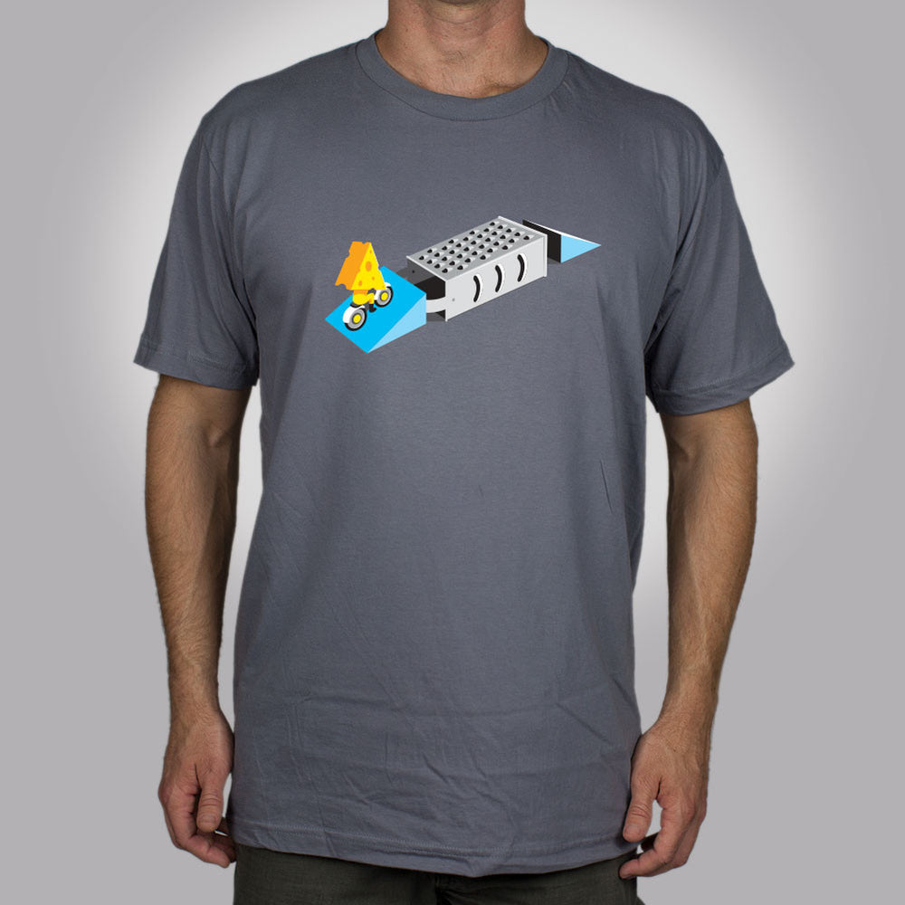 Stunt Cheese Men's T-Shirt - Glennz Tees