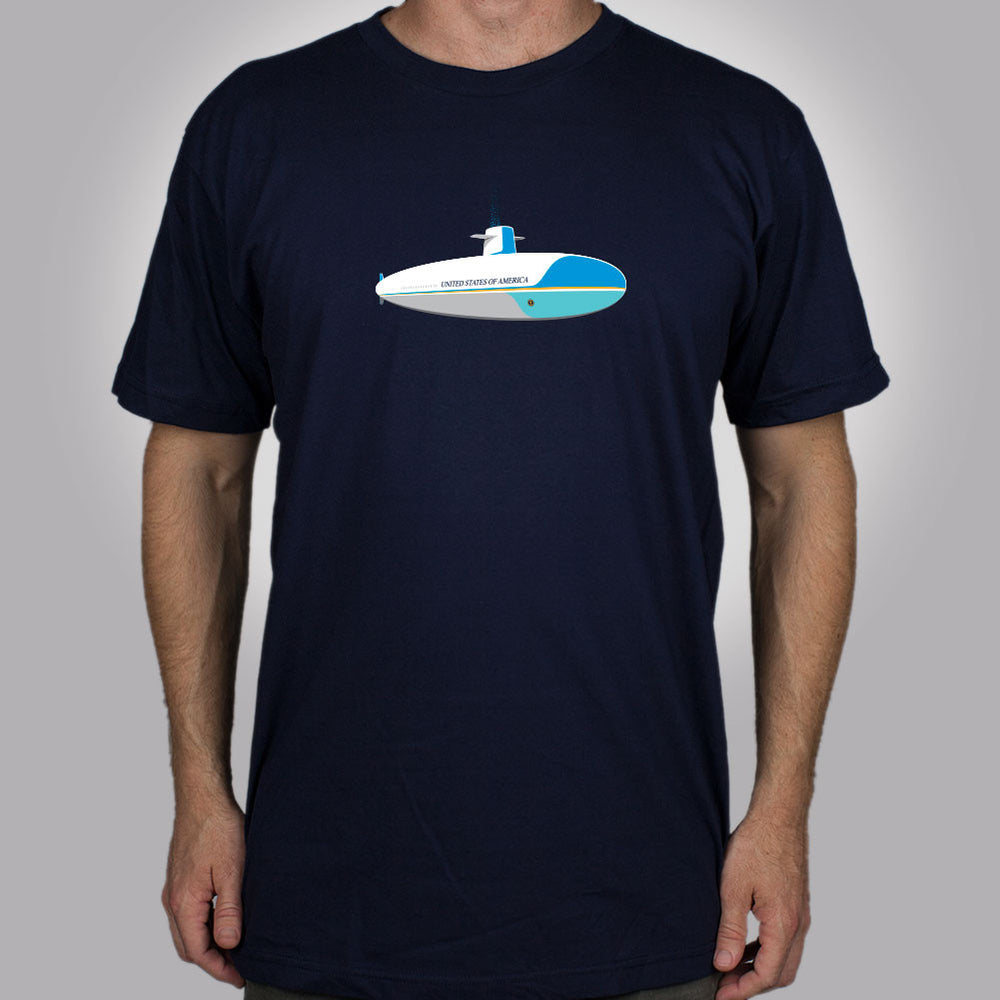 Submarine One Men's T-Shirt - Glennz Tees