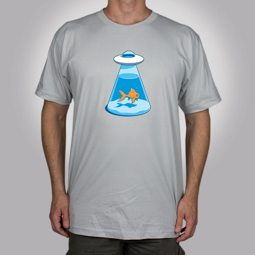 UFO Fishbowl Men's T-Shirt - Glennz Tees