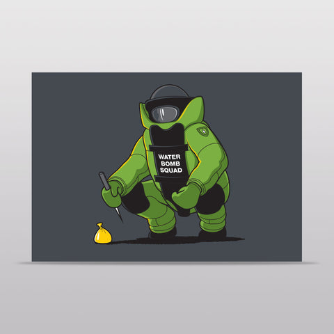 Water Bomb Squad Notecard