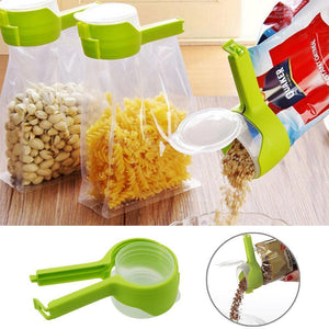 Seal Pour Food Bag Clip