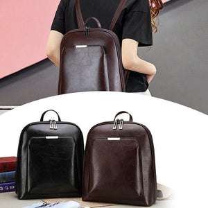 Retro fashion backpack