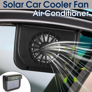 Vehicle Solar Powered Car Vent Window Fan