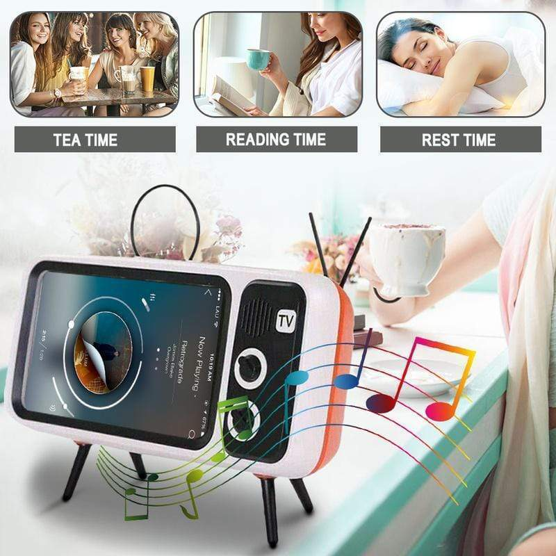 Creative Phone Holder | Mini Speaker