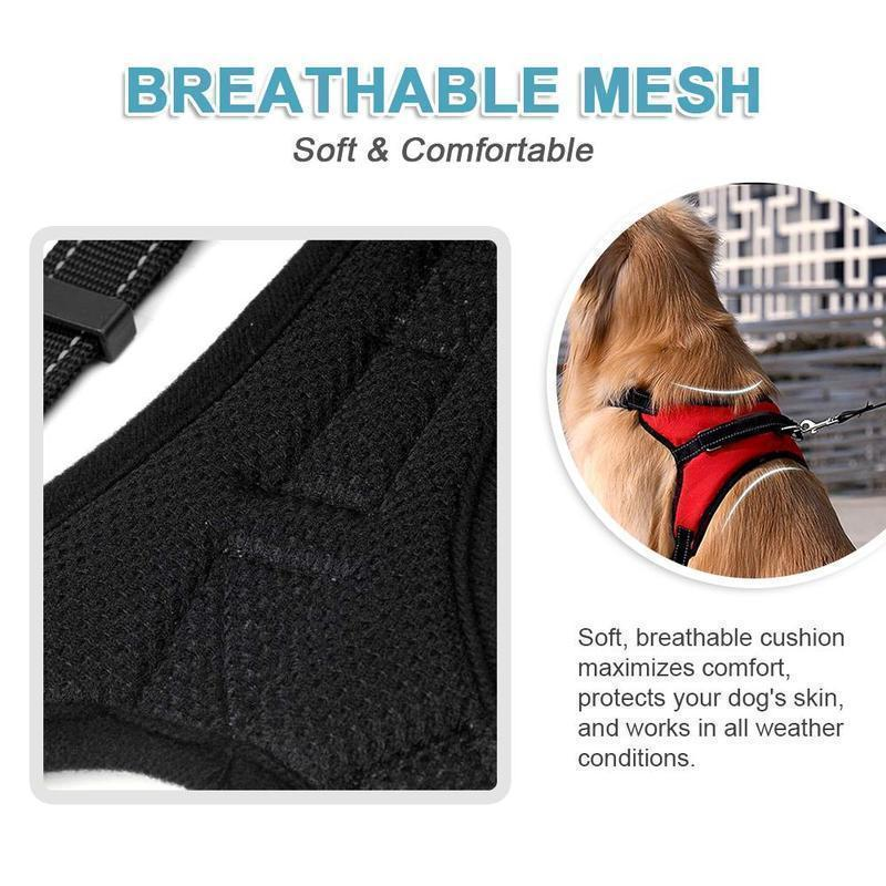 No-Pull Dog Harness, Adjustable Harness for Dogs