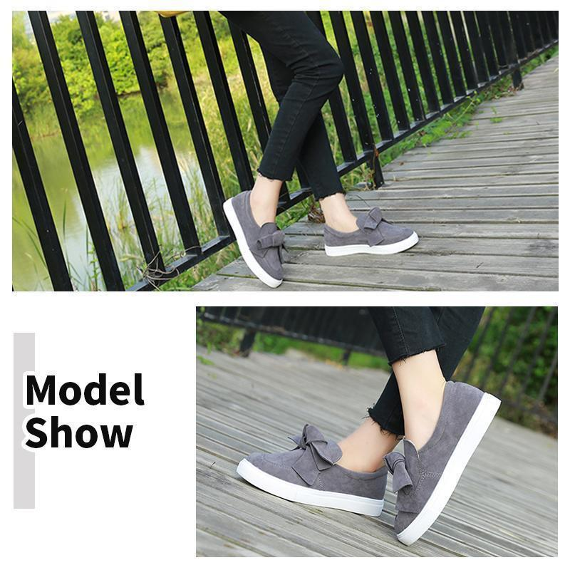 Female Summer Bow Canvas Shoes