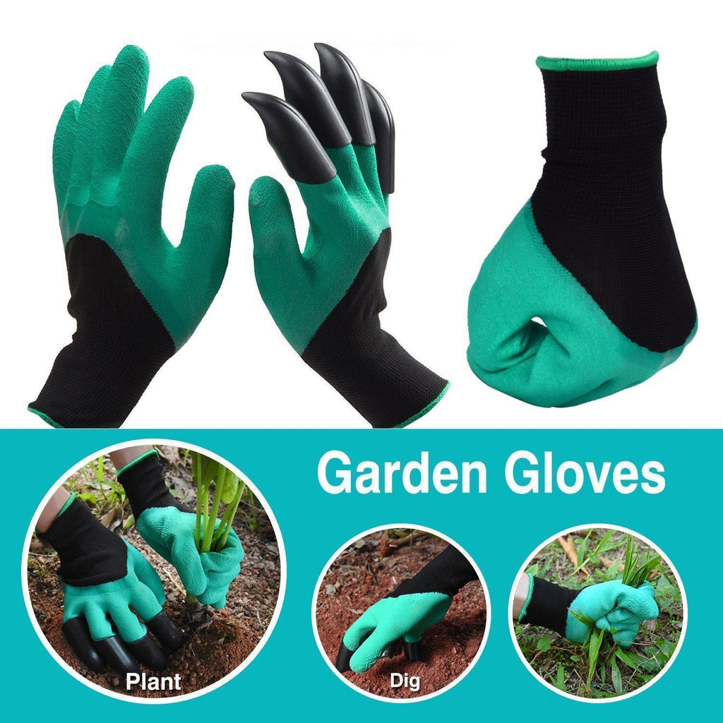 Hirundo Garden Genie Gloves with Claws on Right Hand