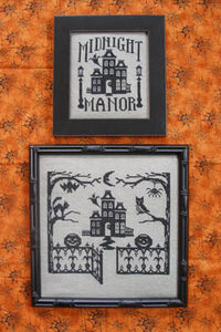 Midnight Manor | Waxing Moon Designs, One Color Wonder