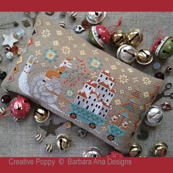Christmas is Coming (Santa on a Snail!) | Barbara Ana Designs