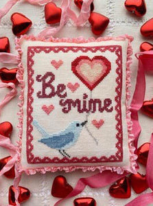 "Bluebird's Message ""be mine"" 