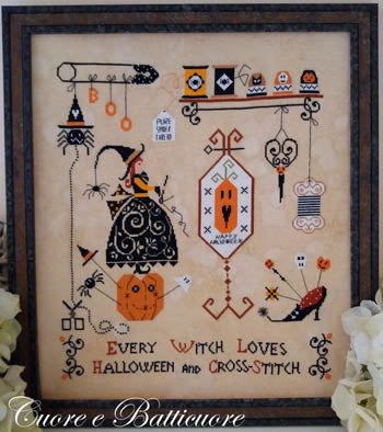 Halloween and Cross Stitch | Cuore E Batticuore