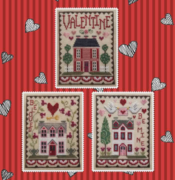 Valentine House Trio | Waxing Moon Designs