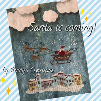 Santa is Coming | Romy's Creations