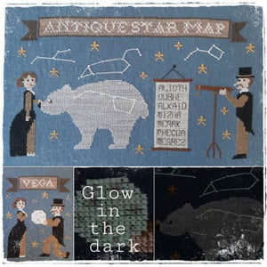 Antique Star Map | Fairy Wool in the Wood