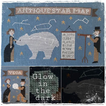 New! Antique Star Map | Fairy Wool in the Wood