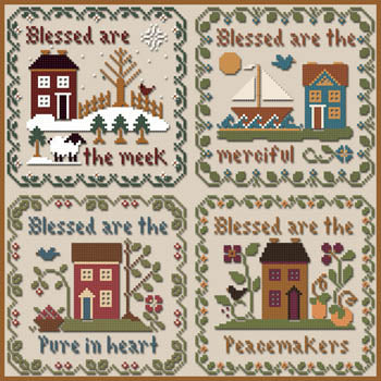 Saltbox Scripture Chart Pack | Little House Needleworks (Re-Print!)