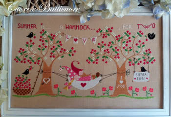 Un'Amaca In Due (Summer Is A Hammock For Two) | Cuore e Batticuore Cross Stitch