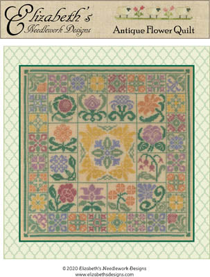 Antique Flower Quilt | Elizabeth's Designs