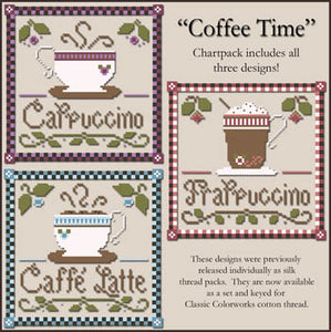 Coffee Time | Little House Needleworks