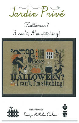Pre-Order: New! Halloween? I can't, I'm Stitching! | Jardin Prive