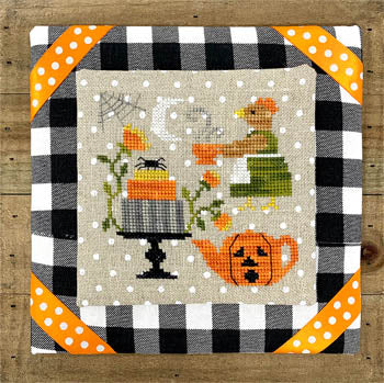 Hen's Halloween Tea | Tiny Modernist