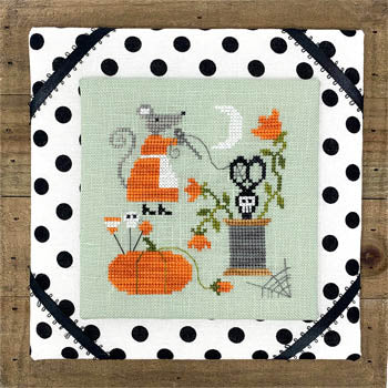Mouse's Halloween Stitching | Tiny Modernist