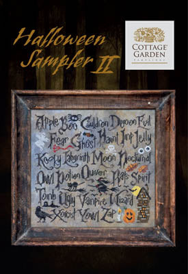 New! Halloween Sampler II | Cottage Garden Samplings