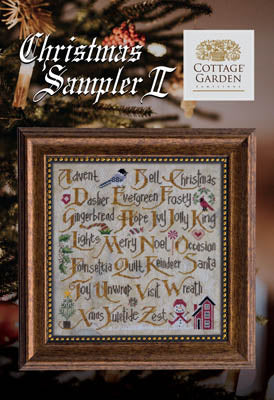 New! Christmas Sampler II | Cottage Garden Samplings