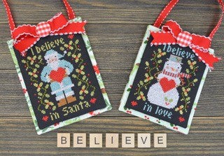 I Believe in Christmas | Annie Beez Folk Art