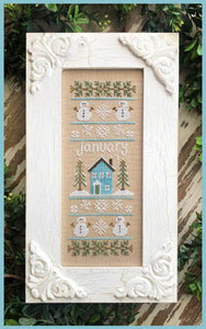 Sampler of the Month - January | Country Cottage Needleworks