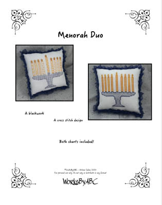 Menorah Duo | WorksByABC