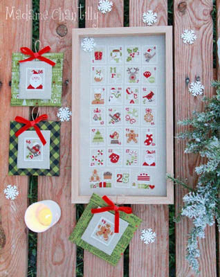Christmas Stamps | Madame Chantilly