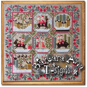 New! Santa's Trips | Barbara Ana Designs