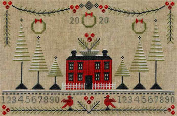Cranberry Christmas Sampler | Artful Offerings