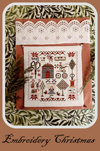 Embroidery Christmas | Nikyscreations Primitive