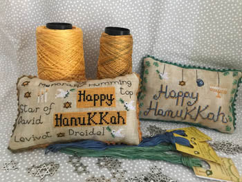 Happy Hanukkah Pillows | Romy's Creations
