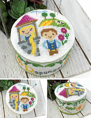 New- Rapunzel! Fairy Tale Pincushion of the Month | Tiny Modernist