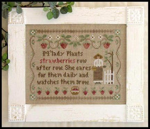 M'Lady's Strawberries | Little House Needleworks, Country Cottage Series