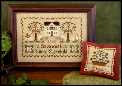 Lucy Fairchild 1860 (Dear Diary) | Little House Needleworks Reprint