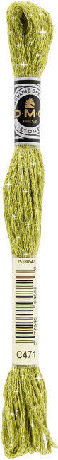 DMC C471 Very Light Avocado Green | DMC Etoile Embroidery Thread