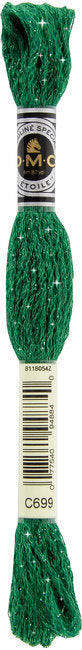 DMC C699 Green | DMC Etoile Embroidery Thread