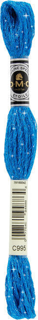 DMC C995 Dark Electric Blue | DMC Etoile Embroidery Thread