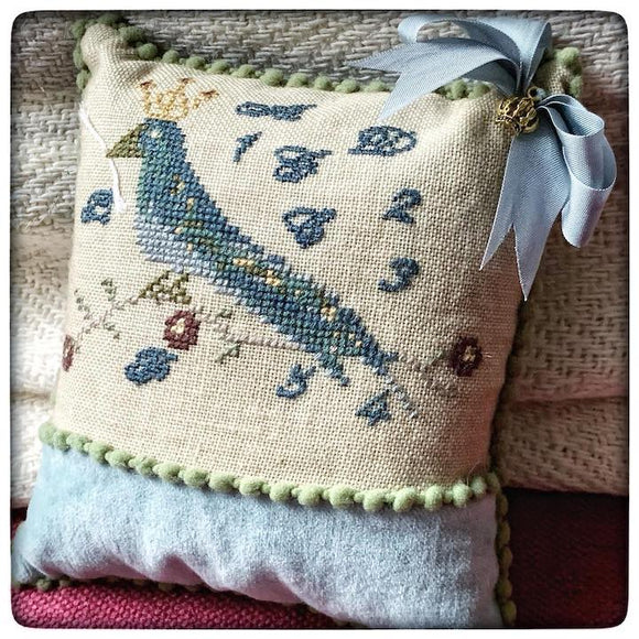 Pre-Order: Royal Blue Bird | The Elegant Thread - Needlework Expo Exclusive