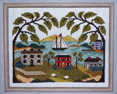 Mountain View Bay | By the Bay Needleart Nashville 2020 Exclusive