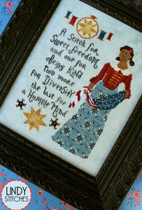 A Stitch For Sweet Freedom | Lindy Stitches