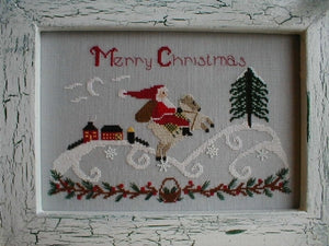 Santa in the Country | By the Bay Needleart