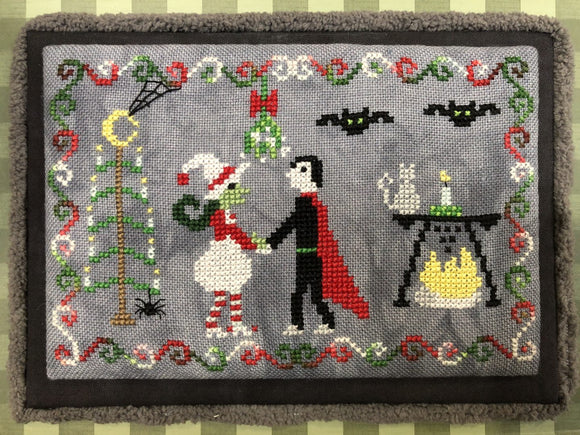 A Very Hilde Yule | Bendy Stitchy Designs Cross-Stitch Chart