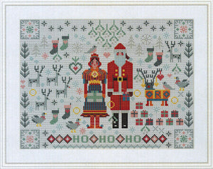 Santa and Mrs. Clause Folkies | Riverdrift House