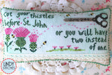 Cut Your Thistles | Lindy Stitches
