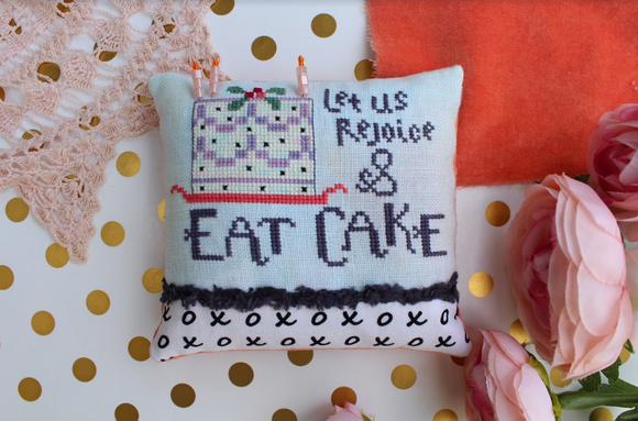 Eat Cake Pincushion Kit | Lindy Stitches - Needlework Expo *Limited Quantities*